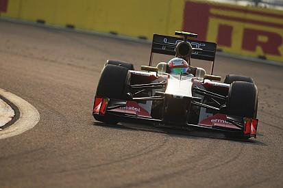 HRT's Karthikeyan finished the race at Korea International Circuit