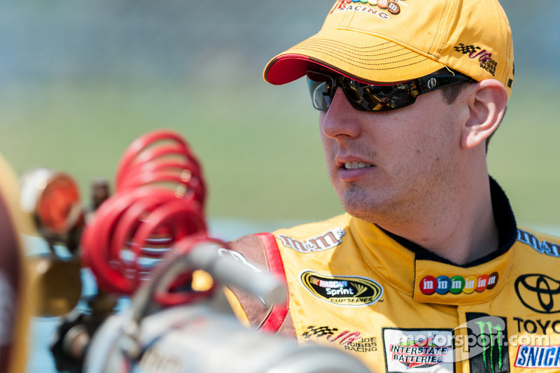 Kyle Busch looking for first win at Kansas Speedway