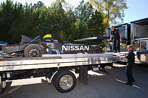 ALMS Testing report Nissan DeltaWing assaulted in Road Atlanta testing