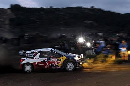 Citroen 1-2 in opening day of Rally d'Italia Sardegna