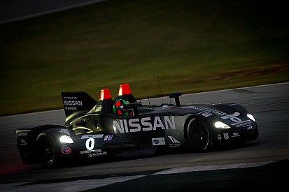 Nissan DeltaWing ready for Petit Le Mans qualifying after incredible repair job - video
