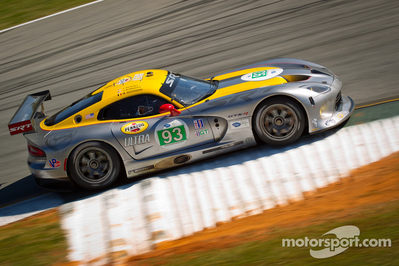 SRT Viper sixth and tenth in GT qualifying at Road Atlanta