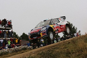 WRC Leg report Hirvonen and Lehtinen extend their overall lead in Sardinia