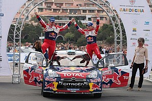 WRC Leg report Hirvonen and Lehtinen claim first Rally Italia Sardegna victory