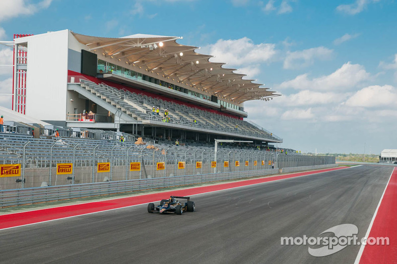 Patrick Dempsey and Mario Andretti christen Circuit of The Americas