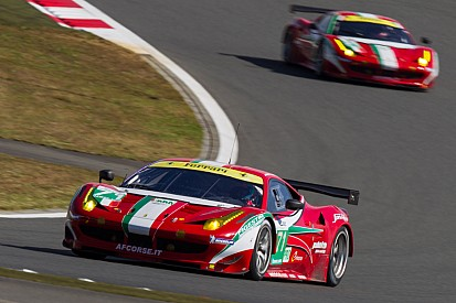 AF Corse Ferrari team aims for victotry in Shanghai