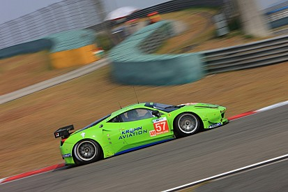 Krohn Racing qualified sixth in the GTE-Am class for tomorrow's 6 Hours of Shanghai