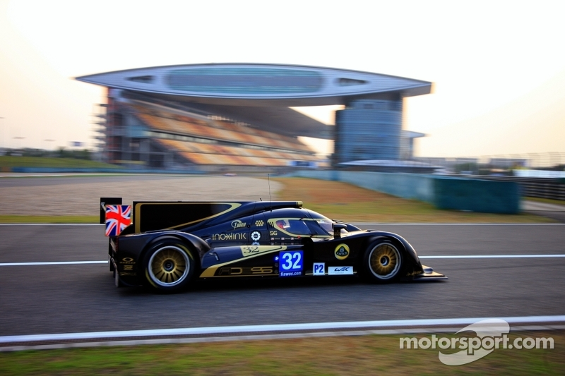 Pole Position for Lotus LMP2 at the 6 Hours of Shanghai