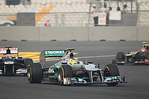 Formula 1 Race report No points for Mercedes at Buddh International Circuit