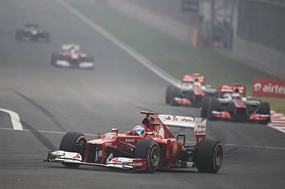 Alonso says Ferrari row reports 'not true'