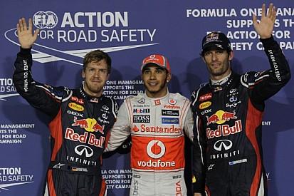 Hamilton dominates Abu Dhabi on Saturday to grab the pole