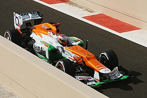 Formula 1 Qualifying report Midfield qualifying for Sahara Force India on Abu Dhabi GP