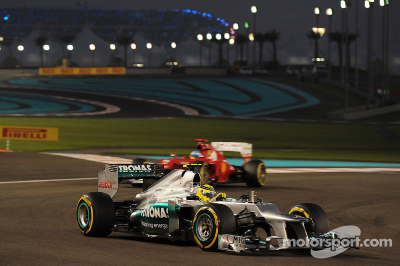 A positive qualifying day for Mercedes in Abu Dhabi