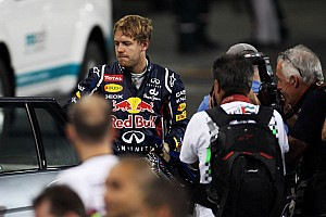 Formula 1 Qualifying report Webber to start 2nd, Vettel disqualified in Abu Dhabi qualifying