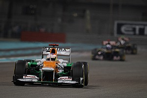 Formula 1 Race report Sahara Force India's Di Resta scored two points in Abu Dhabi GP