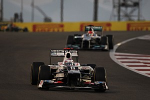 Formula 1 Race report Sauber scored 8 championship points in action packed Abu Dhabi GP