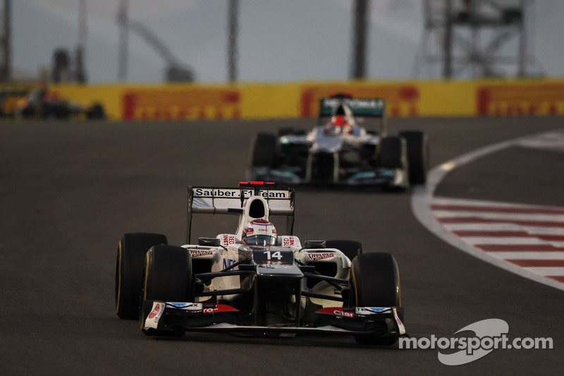 Sauber scored 8 championship points in action packed Abu Dhabi GP