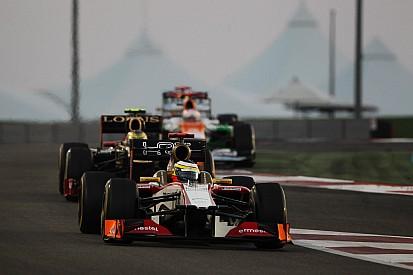 An intense Abu Dhabi GP for HRT