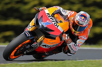 Pedrosa and Stoner aim for Constuctors' title for Honda at Spanish Grand Prix