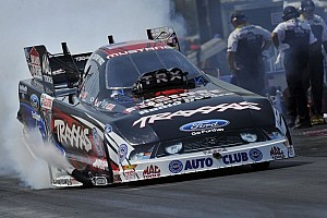 NHRA Qualifying report C. Force, A. Johnson and Hines race to qualifying leads Thursday at Pomona finals