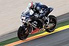 Hayden and De Puniet top wet first day in Valencia free practice