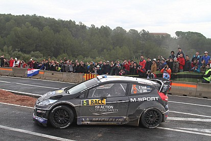 M-Sport close to fourth podium finish of the year on Rally de España
