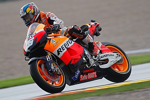 MotoGP Race report Bridgestone: Critical tyre selection aided Pedrosa at Valenciana