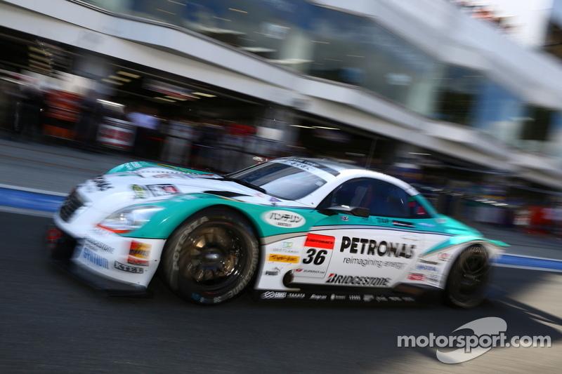 Kazuki Nakajima wins his first position at Fuji Sprint Cup event