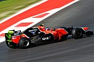 Marussia makes familiarisation runs on Friday at US Grand Prix