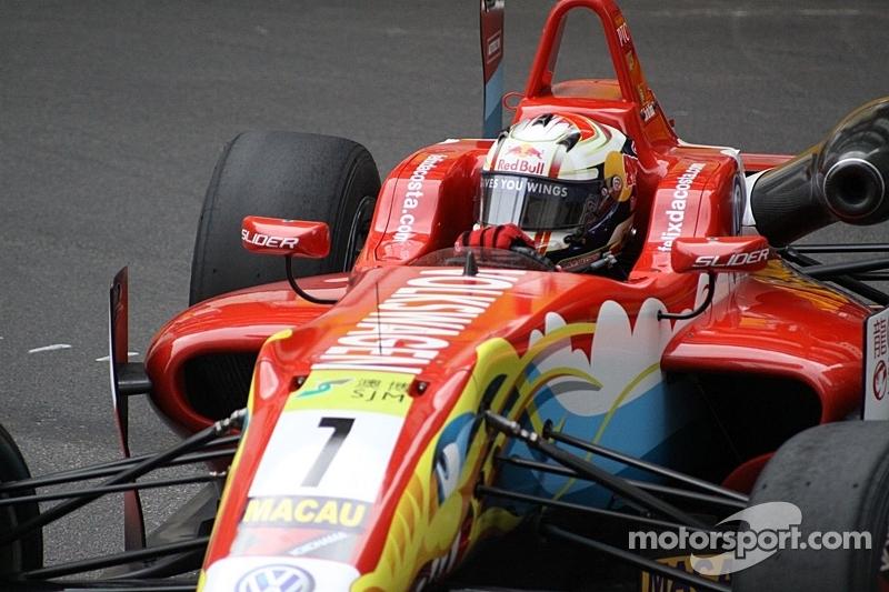 Felix da Costa wins Macau qualification race