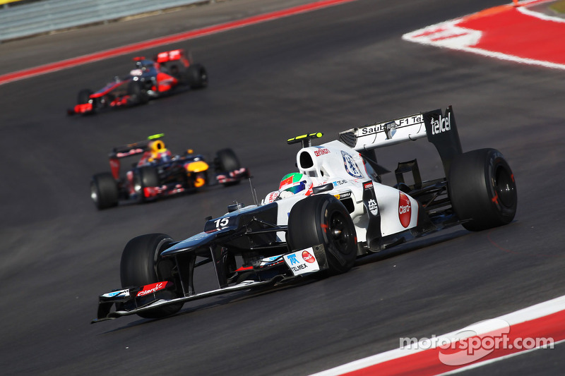 Lack of grip cause disappointment on Sauber qualifying results for US GP