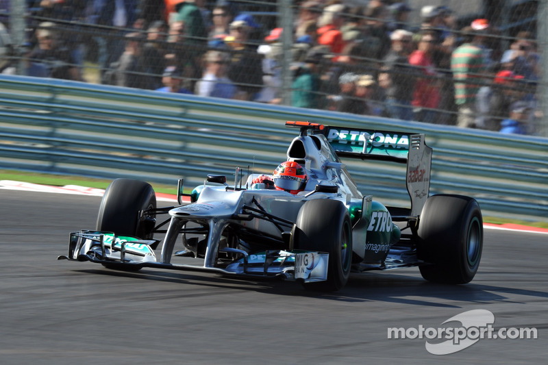 Schumacher had 'no choice' but to retire - Stuck