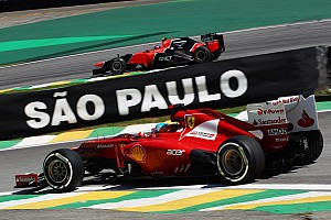 Formula 1 Practice report The final Friday of the season for Ferrari - Brazilian GP