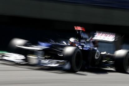Maldonado qualified sixth and Senna 12th for Brazilian GP