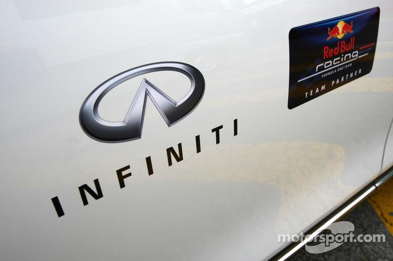 Red Bull signs Infiniti as title sponsor