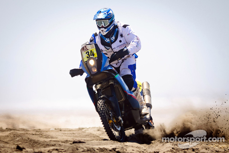 Alessandro Botturi at the Dakar with Husqvarna Rallye Team By Speedbrain