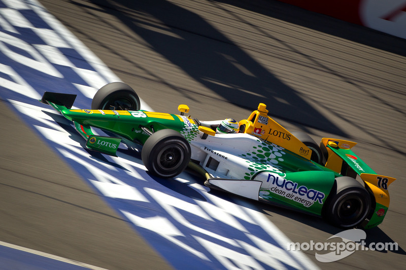 INDYCAR releases Lotus from contract to supply engines