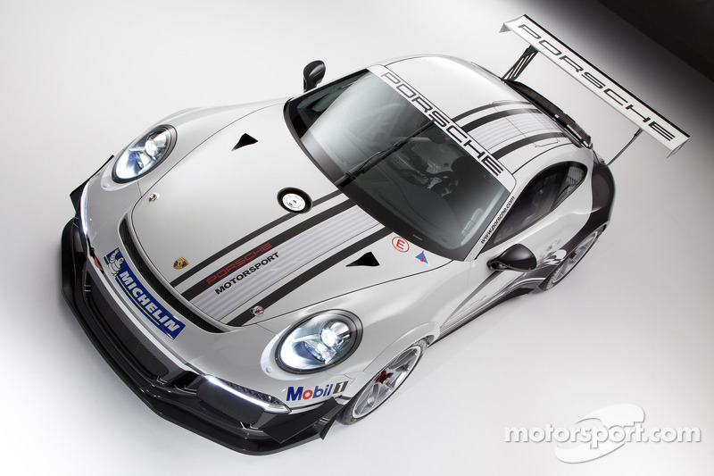New Porsche 911 GT3 Cup race car unveiled at Weissach
