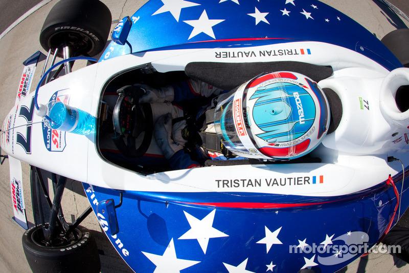 Indy Lights Champion Vautier to test SSM IndyCar at Sebring