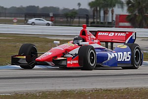 IndyCar Testing report Graham Rahal completes three days of pre-season testing at Sebring