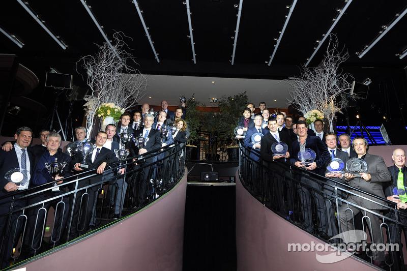 The champions of the inaugural WEC season honoured in Paris