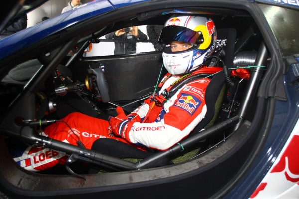 Sébastien Loeb Racing takes possession of its McLaren MP4-12Cs
