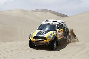 "Dakar Preview Mini driver Joan ""Nani"" Roma is ready for Dakar 2013 challenge - video"