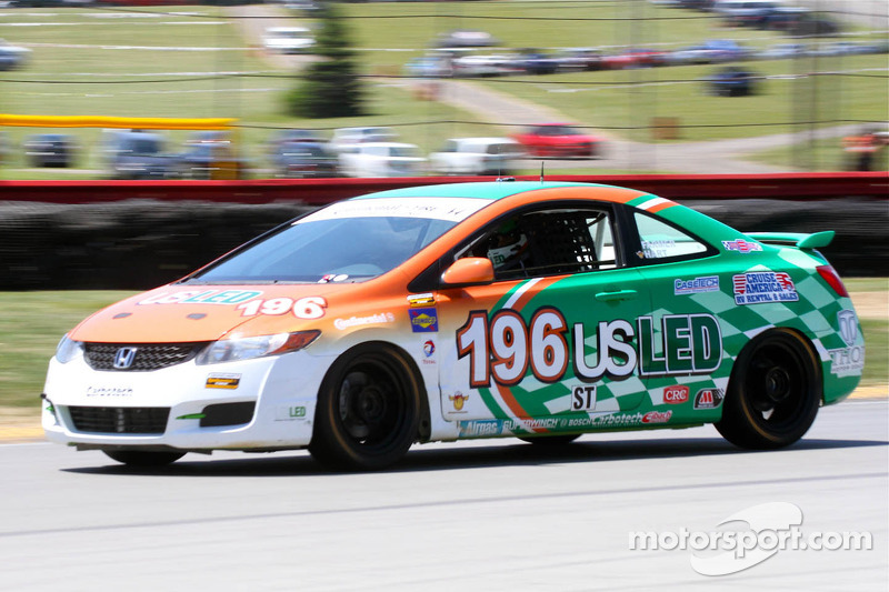 Tom Dyer and Andrew Novich to pilot No. 196 RSR Honda in SCC championship