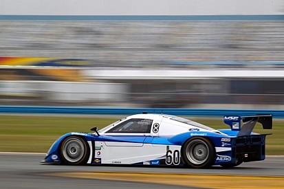 Allmendinger, Lally in familiar territory on first day of Daytona testing