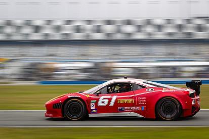 Segal debuts new R.Ferri Ferrari 458 at Daytona testing