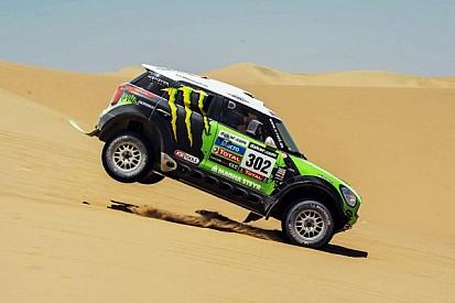 Peterhansel claims Car lead for Mini team on day 2 of Dakar contest