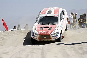 Dakar Stage report Riwald Dakar Team has an adventurous second stage in Peru