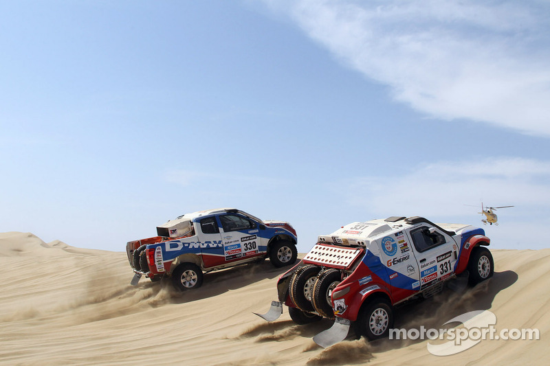 G-Force Team completes stage 2 in Peru