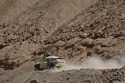 One-two for the Monster Energy X-raid Team on stage 5